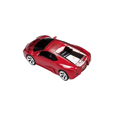 Supersonic® SC-1317 3.7 V Portable Rechargeable Car Speaker With USB/FM Radio, Red