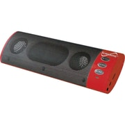 Supersonic® SC-1319 2.0 6 W Portable MP3 Speaker With USB and FM Radio, Black