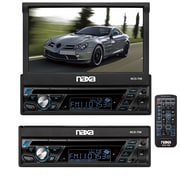 Naxa® NCD-708 7 Touch Screen LCD Display Multimedia Player With AM/FM Radio and Bluetooth