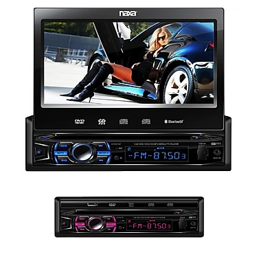 Naxa NCD-707 7 Touch Screen LCD Display Multimedia Player With AM/FM Radio