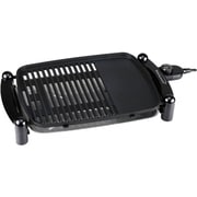 Brentwood 1200 W Non-Stick Indoor Electric Barbeque Grill, Black