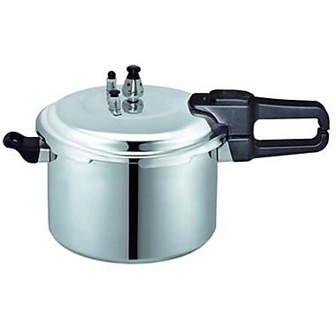 Brentwood 5.8 Liter Pressure Cooker, Gray