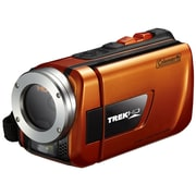 Coleman® TrekHD Waterproof Camcorder, Orange