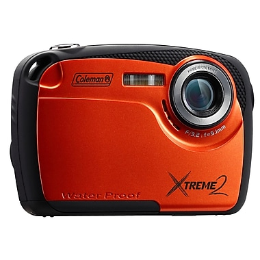 Coleman® Xtreme2 16 MP Waterproof Digital Camera With 2.5in. LCD Screen, Orange