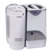 Optimus U-32010 3 gal Warm Mist Humidifier With Wicking Vapor System, White