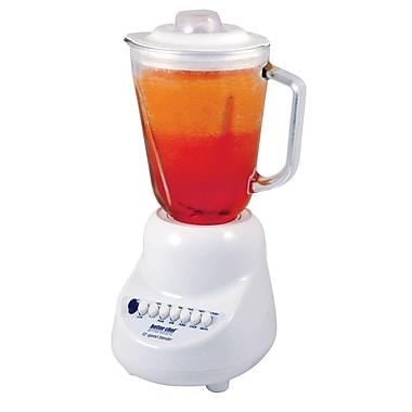 Better Chef 10 Speed Blender With 48 oz. Glass Jar, White