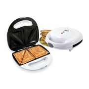 Better Chef Non-Stick Sandwich Grill, White