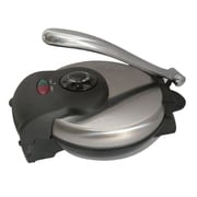 Brentwood 1000 W Non-Stick Tortilla Maker, Stainless Steel