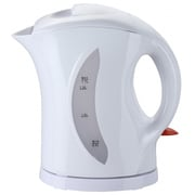 Brentwood® 1.7 Litre Cordless Plastic Tea Kettle, White