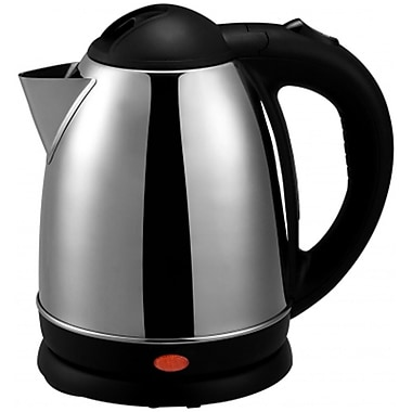 Brentwood® 1.5 Litre Cordless Stainless Steel Electric Tea Kettle, Brushed