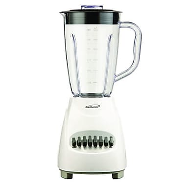 Brentwood® 12 Speed Blender With 1.5 Litre Plastic Jar, White