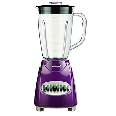 Brentwood® 12 Speed Blender With 1.5 Litre Plastic Jar, Purple