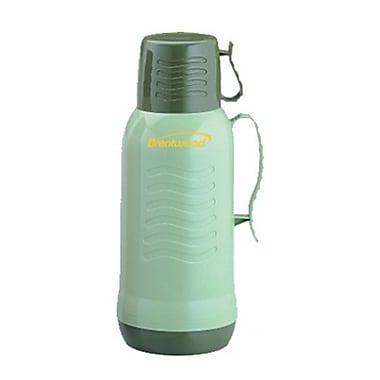 Brentwood® 1 Litre 2 Tone Coffee Thermos, Green