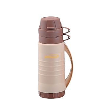 Brentwood® 0.45 Litre Double Cup Coffee Thermos, Cream