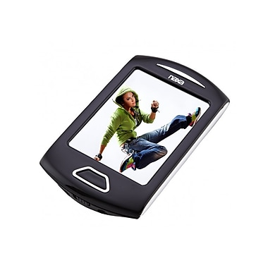 Naxa® 2.8in. 4GB Touchscreen Video/MP3 Players With Camera PLL Digital FM Radio