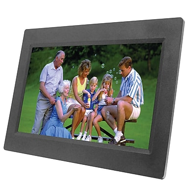 Naxa® NF-1000 TFT LED Digital Photo Frame, 10.1