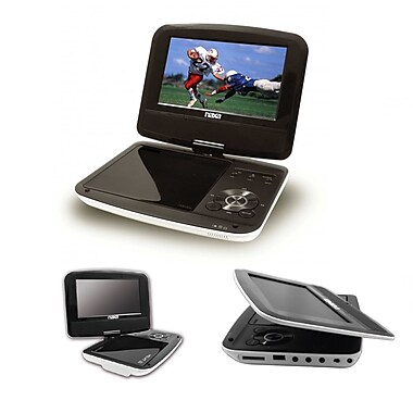 Naxa® 7in. TFT LCD Swivel Screen Portable DVD Player With USB/SD/MMC Inputs