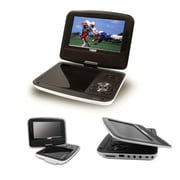 "Naxa® 7"" TFT LCD Swivel Screen Portable DVD Player With USB/SD/MMC Inputs"