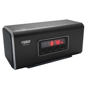 Naxa® NAS-3054 6 W Portable Speaker With USB/SD/MMC Inputs/FM Radio, Black