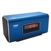 Naxa® NAS-3054 6 W Portable Speaker With USB/SD/MMC Inputs/FM Radio, Blue