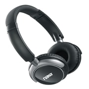 Naxa NE-927 Bluetooth Wireless Stereo On-Ear Headphone with Mic, Black