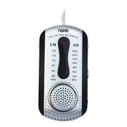 Naxa® NR-721 AM/FM Mini Pocket Radio With Built-in Speaker, Black