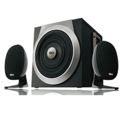 QFX CS-63 40 W 2.1 Channel Speaker With Built-in USB and SD Port, Black