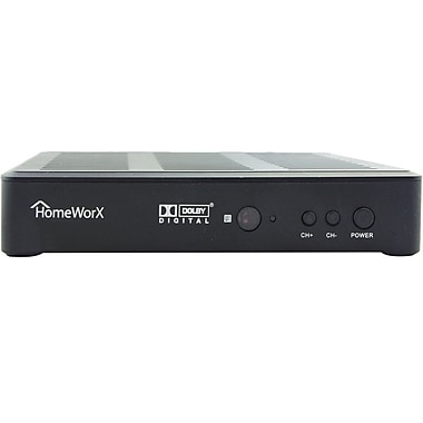 HomeWorX 180STB Digital Converter Box With Media Player Function and HDMI Out