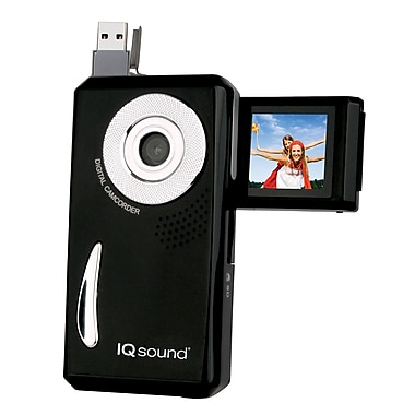 Supersonic® 0.3 MP Digital Camcorder/Digital Camera With USB Flash Drive and SD Card Slot
