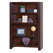 "Martin Home Furnishings 53"" Hardwood Solid & Maple Veneer Bookcase"