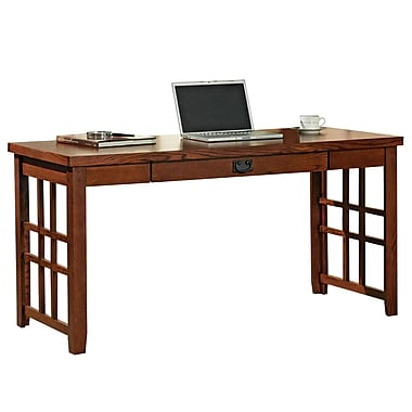 Martin Home Furnishings Mission Pasadena Wood Writing Desk