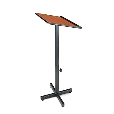 Oklahoma Sound® 48 1/2in.H x 18 1/2in.W x 20in.D MDF Portable Presentation Lecterns