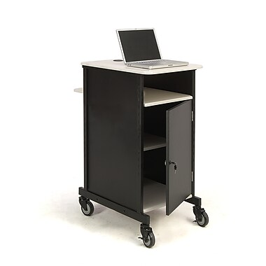 Oklahoma Sound® Jumbo Audio Visual Presentation Cart, 40