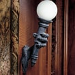Design Toscano Blackfriar's Gate Wall Torchiere Lamp; 2