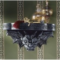 Design Toscano The Gargoyle's Perch Sculptural Wall Shelf
