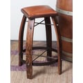 2 Day 24'' Bar Stool; Chocolate