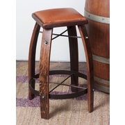 2 Day Stave 28'' Bar Stool with Cushion