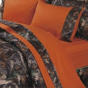 HiEnd Accents Oak Camo Sheet Set; Twin