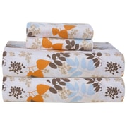 Pointehaven Heavy Weight Printed Flannel Sheet Set; California King