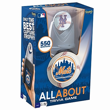 Fundex Games MLB All About Baseball Trivia Game; New York Mets