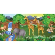 Mona Melisa Designs Monkey Boy Wall Mural