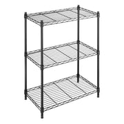 Whitmor, Inc Supreme Small 3 Tier 29.9'' Three Shelf Shelving Unit; Black