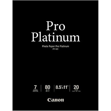 Canon Photo Paper, Pro Platinum, 8.5