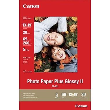 Canon – Papier photo Plus, lustré, 13 x 19 po, 20/paquet