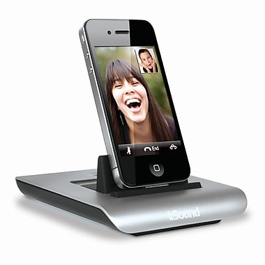 i.Sound ISOUND-4579 Power View S Charging Dock for iPod®, iPhone® and iPad®