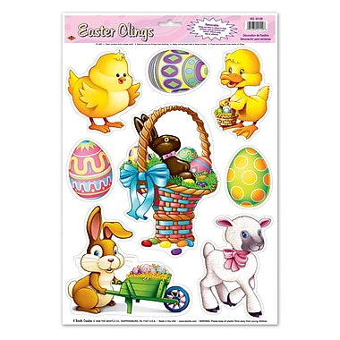 Easter Animal Icon Clings, 12