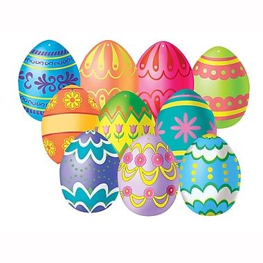 Mini Easter Egg Cutouts, 4-1/2