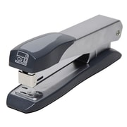 Charles Leonard Full Strip Stapler, Silver/Gray