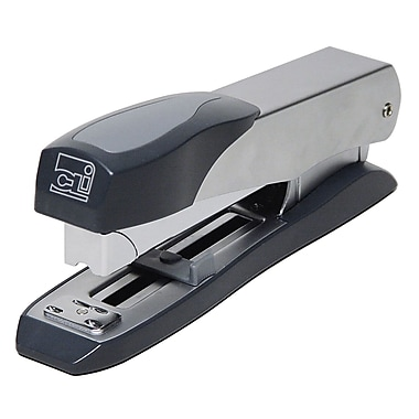 Charles Leonard Executive Stapler, Silver/Gray