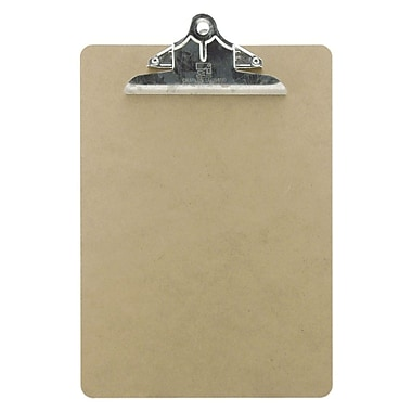 Charles Leonard 1/8in. Masonite Clipboard, Letter Size